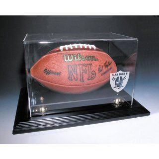 "Oakland Raiders Nfl Zenith"" Football Display Case (Mahogany)""  Sports Related Display Cases  Sports & Outdoors"