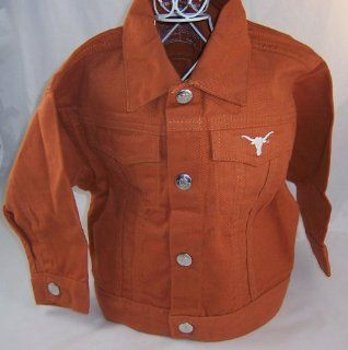 University of Texas 12 Month Kids Unisex Toddler Jacket   NCAA Merchandise  Sports Related Merchandise  Sports & Outdoors