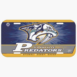Nashville Predators License Plate  Sports Related Mugs  Sports & Outdoors