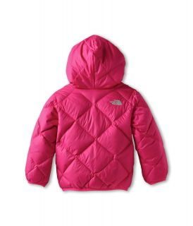 The North Face Kids Girls Reversible Moondoggy Jacket Toddler Passion Pink