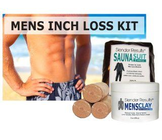 SLENDER RESULTS Mens Inch Loss Body Wrap Kit Beauty