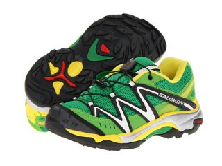 Salomon Kids XT Wings (Toddler/Little Kid/Big Kid) Clover Green/Light Green X/Canary Y