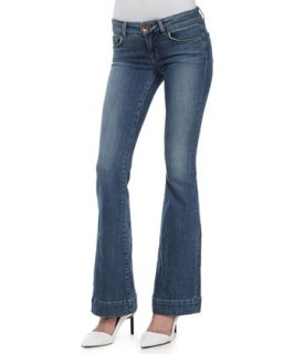 Womens Love Story Flared Jeans   J Brand Jeans   Cosmic (28)