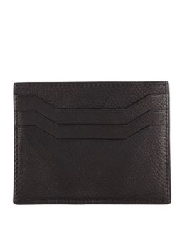 Mens Flap Card Case, Black   Tom Ford   Black