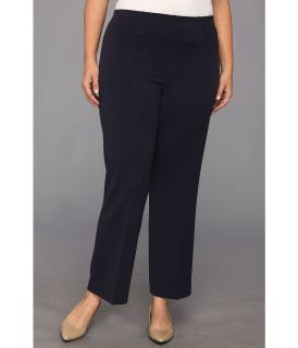Pendleton Plus Size Side Zip Pant Womens Casual Pants (Black)