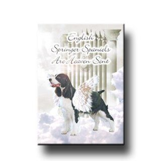English Springer Spaniel Heaven Sent Fridge Magnet  Refrigerator Magnets
