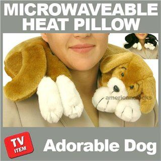 As Seen On TV Therapeutic Puppy Dog Heat Pillow Health & Personal Care