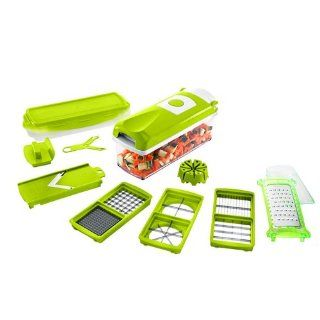 2013 New Genius Nicer Dicer Plus As Seen on TV Multi Chopper 12 Pieces Kitchen & Dining