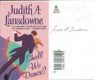 JUDITH LANDSDOWNE SIGNED SHALL WE DANCE PROMO CARD at 's Sports Collectibles Store