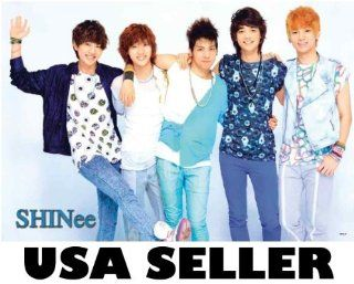 Shinee bluish outfits POSTER 34 x 23.5 Korean boy band fresh faced Taemin Onew Minho (sent FROM USA in PVC pipe)  Prints