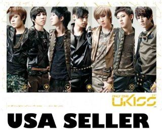 U Kiss Only One horiz collage POSTER 34 x 23.5 UKiss Korean Kpop Boy Band U Kiss (sent FROM USA in PVC pipe)  Prints