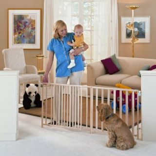 North States Extra Wide Swing Gate   Baby Gates