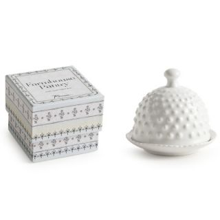 Rosanna Farmhouse Pantry Hobnail Butter Dishes