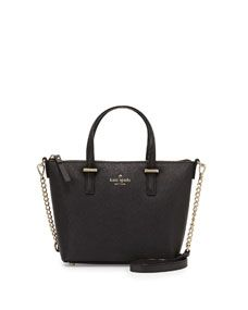 kate spade new york cedar street harmony crossbody bag, black