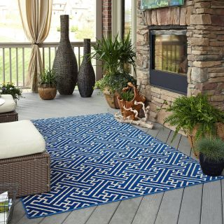 Mohawk Home Maze Indoor/Outdoor Rug