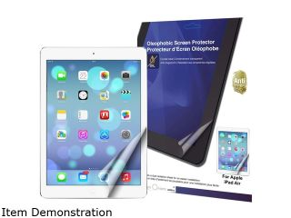 Green Onions Supply Crystal Oleophobic Screen Protector for Apple iPad Air (RT SPIPADA07)