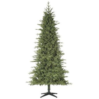 Vickerman Tiffany Spruce 7.5 Green Slim Artificial Christmas Tree