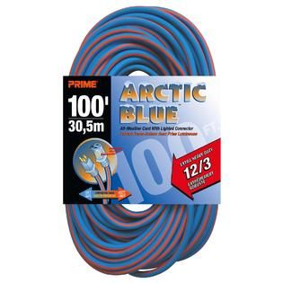 Prime Wire LT530835 Extra Heavy Duty 100 Foot Artic Blue All Weather