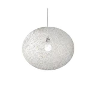 BAZZ VIBE Collection 1 Light White Round Hanging Pendant LU8024