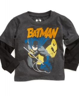 Warner Brothers Kids Shirt, Little Boys Graphic Layered Tee