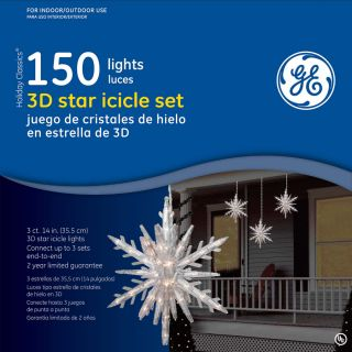 GE 150 Count Clear Mini Christmas String Lights