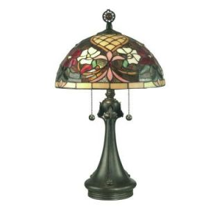 Dale Tiffany Rose Garden Table Lamp DISCONTINUED TT10521