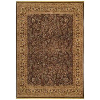 Shaw Rugs Renaissance Regency Dark Brown Rug