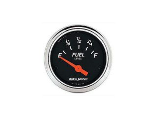 Auto Meter Designer Black Fuel Level Gauge