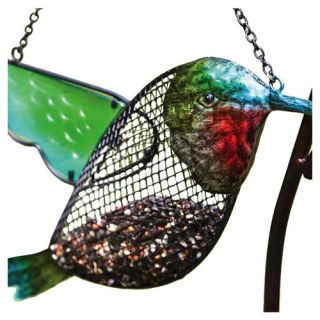 Evergreen Flag & Garden Hummingbird Decorative Bird Feeder