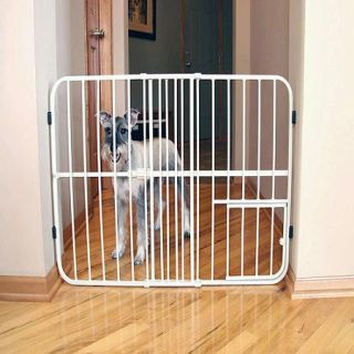 Carlson Pet Products Tuffy Pet Gate, Metal
