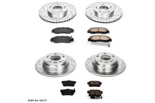 1991 1995 Acura Legend Performance Brake Kits   Power Stop K2717   Power Stop Z23 Brake Kit