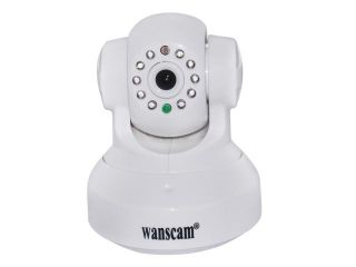 Wanscam JW0012 White Color Mini CCTV Camera WiFi WPA Network Webcam Wireless camara IP Internet For Home security Surveillance Free Iphone Android App