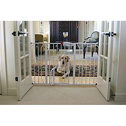 Carlson Super Wide Walk Through Pet Gate   Shopping   The