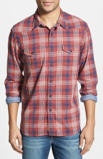 Lucky Brand Trestles Plaid Western Shirt
