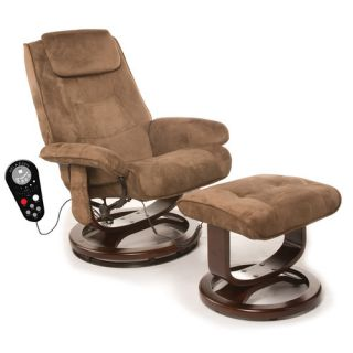 Comfort Products Walter Leisure Reclining Heated Massage Chair with