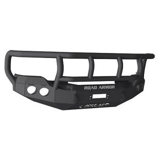 Road Armor Stealth Base Front Bumper With Titan II Guard 2011 Ford Super Duty