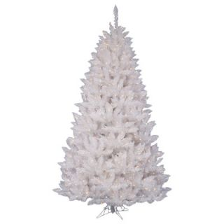Vickerman Co. Crystal White Spruce 7.5 Artificial Christmas Tree with