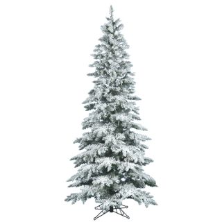 39 Flocked Utica Fir Tree with 744 Tips   17678376