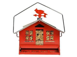 Perky Pet Squirrel Be Gone II Country Style Bird Feeder