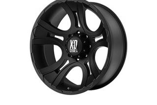 "XD Series XD80189050700   5 x 5"" Bolt Pattern Black 18"" x 9"" XD Series 801 Crank Matte Black Wheels   Alloy Wheels & Rims"