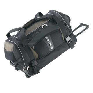 Olympia 26 inch 8 pocket Rolling Upright Duffel Bag   11272004