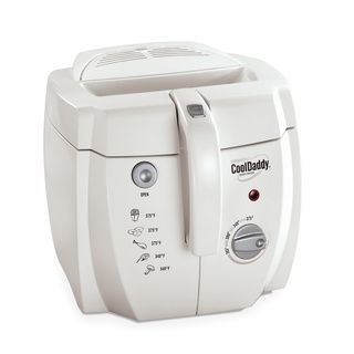 Cuisinart CDF 100 Brushed Stainless Steel Compact Deep Fryer