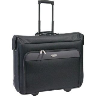 "Travelers Club 44"" Rolling Garment Bag, Black and Gray"