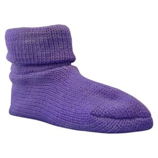 MUK LUKS® Womens Non skid Cuff Slipper Socks