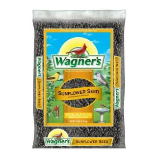 Wagner's 5 lb. Black Oil Sunflower Seed Wild Bird Food 52023