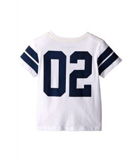 True Religion Kids Varsity Paneled Tee Shirt (Big Kids) White