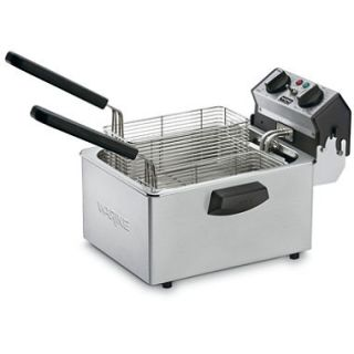 Waring Commercial Countertop Deep Fryer   120 volts