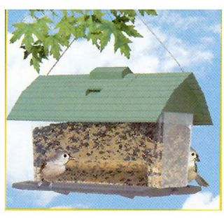 Perky Pet Seed Barn Bird Feeder