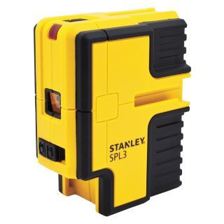 STANLEY Electronic Self Leveling Laser Layout Tool, Horizontal, Interior and Exterior   Rotary and Straight Line Laser Levels   31CN20|STHT77342