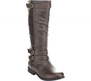 Womens Wild Diva Michael 4 Buckle Boots